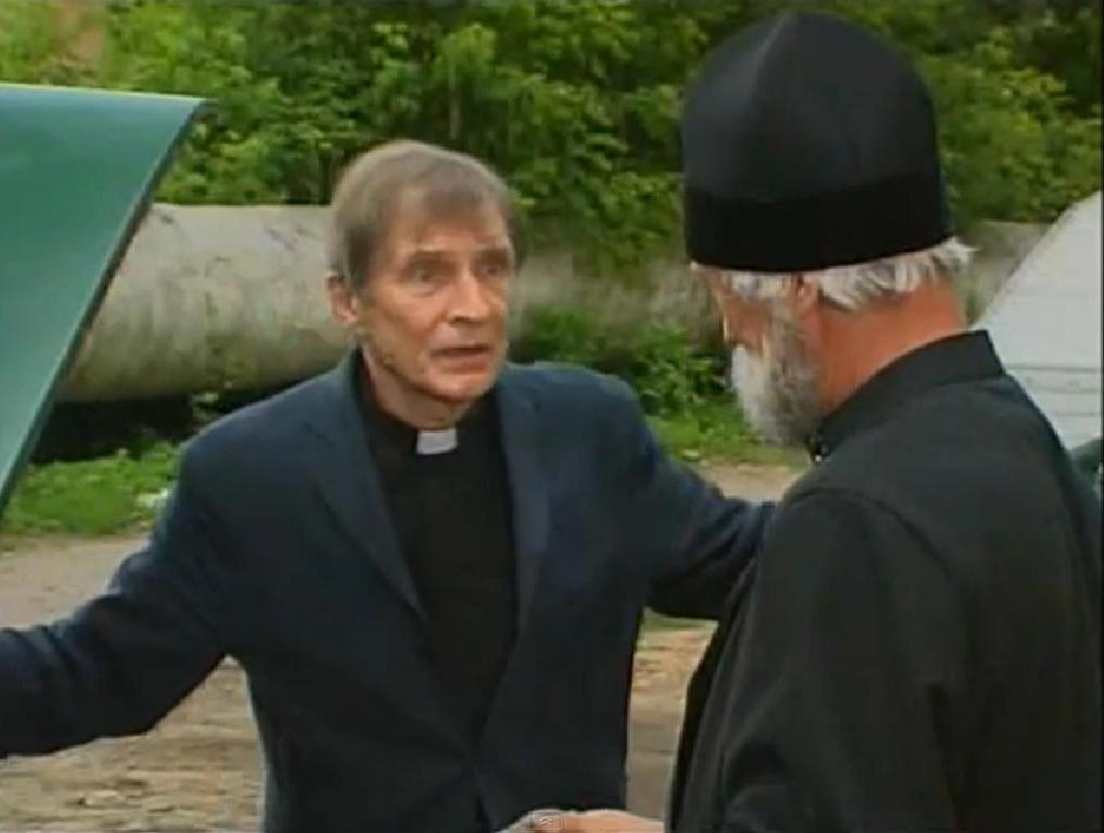 телевизионный роман Спас под березами 1 серия отец Георгий